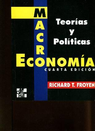 Macroeconomia Teoria Y Politicas Richard Froyen Pdf